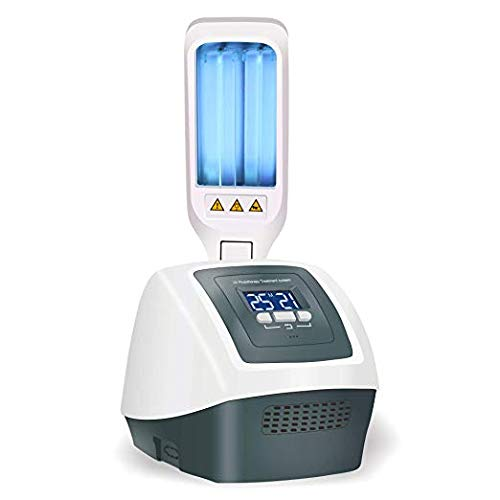 Review FDA Approved Home 311nm Narrowband UV Phototherapy Light with Two Philips Bulbs (110V 50Hz)