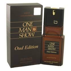 One Man Show Oud Edition Eau de Toilette Spray By Jacques Bogart – 3,4 oz