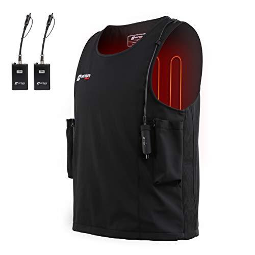 Venture Heat Waterproof Battery Heated Vest, 20W Diving Wet Suit - Surfing, Snorkling Gear, Kayaking, Sailing (S)