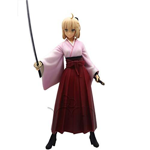 Achnr Fate Grand Order Kimono Saber Lily Figur mit Box