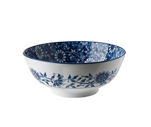 JUNYYANG Cuenco, de cerámica Estilo japonés vajilla tazón tazón tazón de Sopa Plato a casa