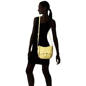 Kooba Handbags Gary Cross Body Bag, Lemon Yellow, One Size