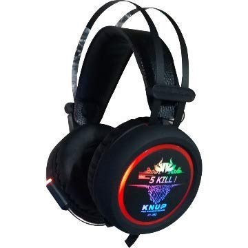 Headset Gamer Led Rgb Som Surround Effect Virtual 7.1 com Microfone Estéreo Para Pc Notebook Xbox One Series X e S Ps4 Ps5