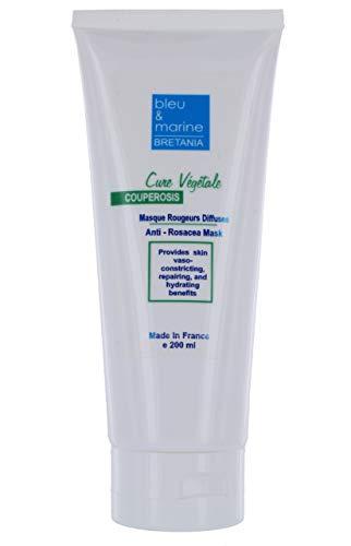 Anti Rosacea Gesichtsmaske (200ml) gegen Rosacea und Couperose, bei Hautentzündungen und roten Äderchen - made in Europe.