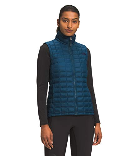 The North Face Women's ThermoBall Eco Vest, Monterey Blue, XS