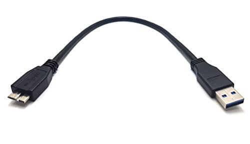 Maincore SuperSpeed Kabel für externe Festplatte, USB 3.0Typ A auf Micro-B (erhältlich in 0,15m, 0,30m, 0,50m, 0,75m, 1m, 2m) 30cm