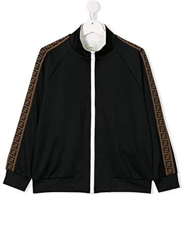 Fendi Luxury Fashion Junge JUH011A69DF0GAR Schwarz Polyester Sweatshirt | Frühling Sommer 20