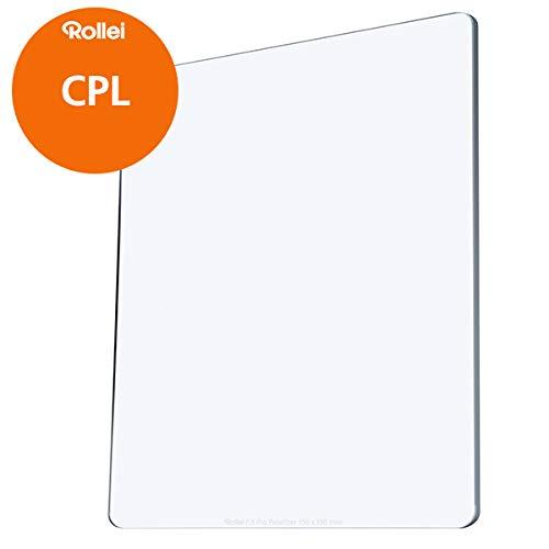 Rollei F:X CPL Filter I Polfilter 150mm aus Gorilla-Glas mit Luminance Coating I Kombinierbar mit ND Filtern, Graufiltern und Verlaufsfiltern