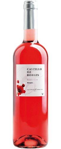 6x 0,75l - 2017er - Castillo de Robles - Tempranillo Rosado - Vino de la Tierra de Castilla - Spanien - Rosé-Wein trocken
