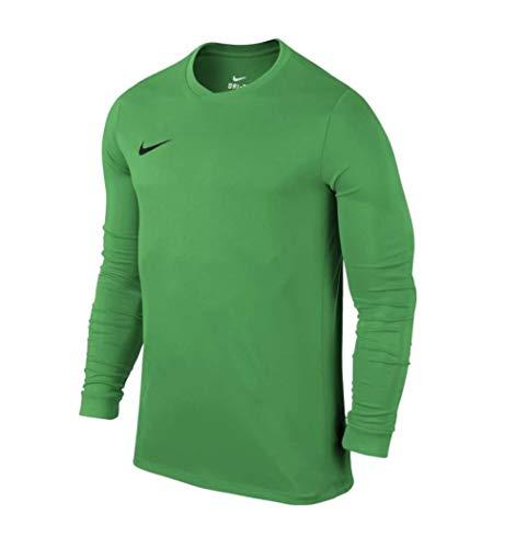 Nike LS YTH Park Vi JSY Camiseta de Manga Larga para Niños, Verde...