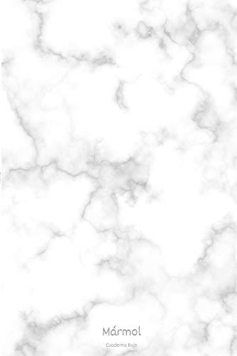 Mármol Cuaderno Bujo: Cuaderno Bujo con 110 Páginas con Puntos | Tamaño Medio A5 | Regalo Perfecto y Original para Cualquier Ocasión | Páginas Puntinadas | Hojas con Puntos