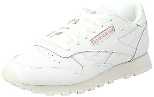 Reebok Damen CL LTHR Sneaker Weiß, 41