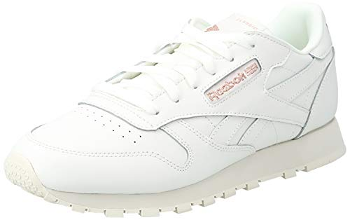 Reebok Classic Leather W Schuhe Chalk/Rose, 36 EU