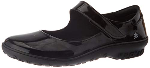 Art Antibes, Zapatos Planos Mary Jane Mujer, Negro, 40 EU