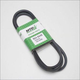 MTD Genuine Part 954-0440 Genuine Parts Trattorino 46  Deck Belt OEM Parte per Troy-Bilt Cub-Cadet Artigiano Bolens Remington Ryobi Yardman Yard