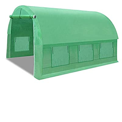 Strong Camel Portable Greenhouse Large Walk in Green Garden Hot House Outdoor Plant Tunnel Tent