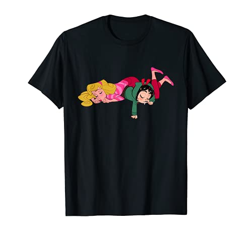 Ralph Breaks the Internet Princess Aurora Vanellope T-Shirt