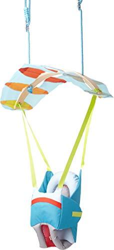 Haba 303941 – babyschommel luftikus, indoor schommel om op te hangen in schuifscherm design voor kinderen vanaf 12 maanden, belastbaarheid: 30 kg