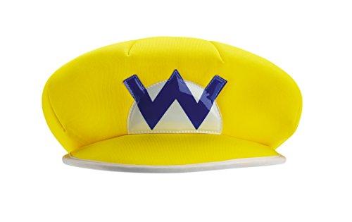 Generique - Wario Mütze für Kinder Nintendo