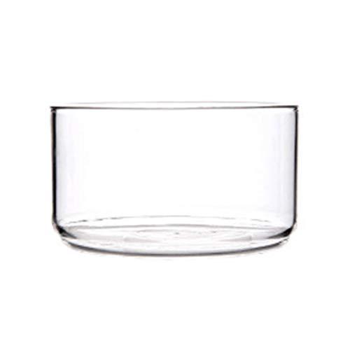 DOITOOL Ensaladera y servidores Ensaladera de cristal transparente resistente al calor para postres instantáneos de fideos...