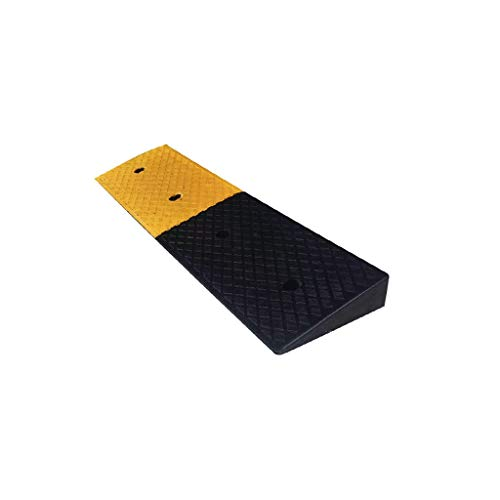 LXFYMX Rampas Rampas de Goma, soluciones Calles rampas Pesados, Silla de Ruedas de Coche rampas umbral del 98 * 25 * 7cm acera rampas para calzada (Color : 2pcs)