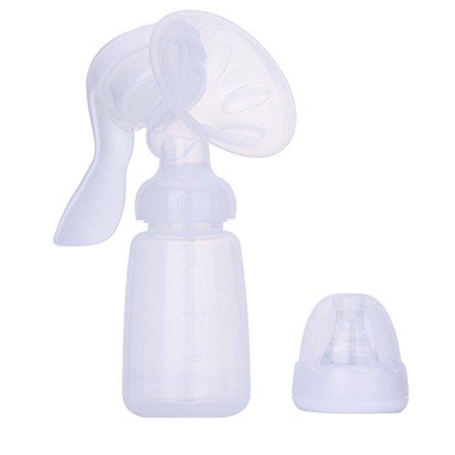 Einstellbar Komfort Milchpumpe, Handmilchpumpe zum Stillen - manuelle Bedienung, für das Stillen Baby