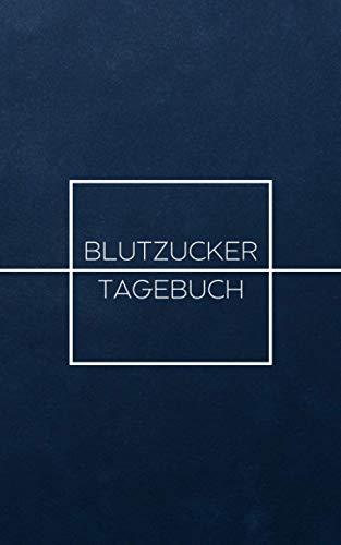 Blutzucker Tagebuch für 52 Wochen (Blau Schlicht): Einfache wöchentliche Blutzuckermessung; Diabetes Journal für Diabetiker zum Ausfüllen und ... Platz für alle individuell wichtigen Notizen
