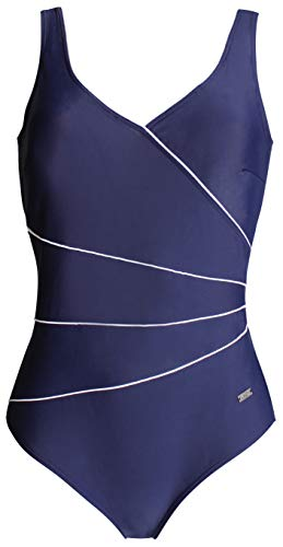 Naturana Damen Badeanzug, Blau