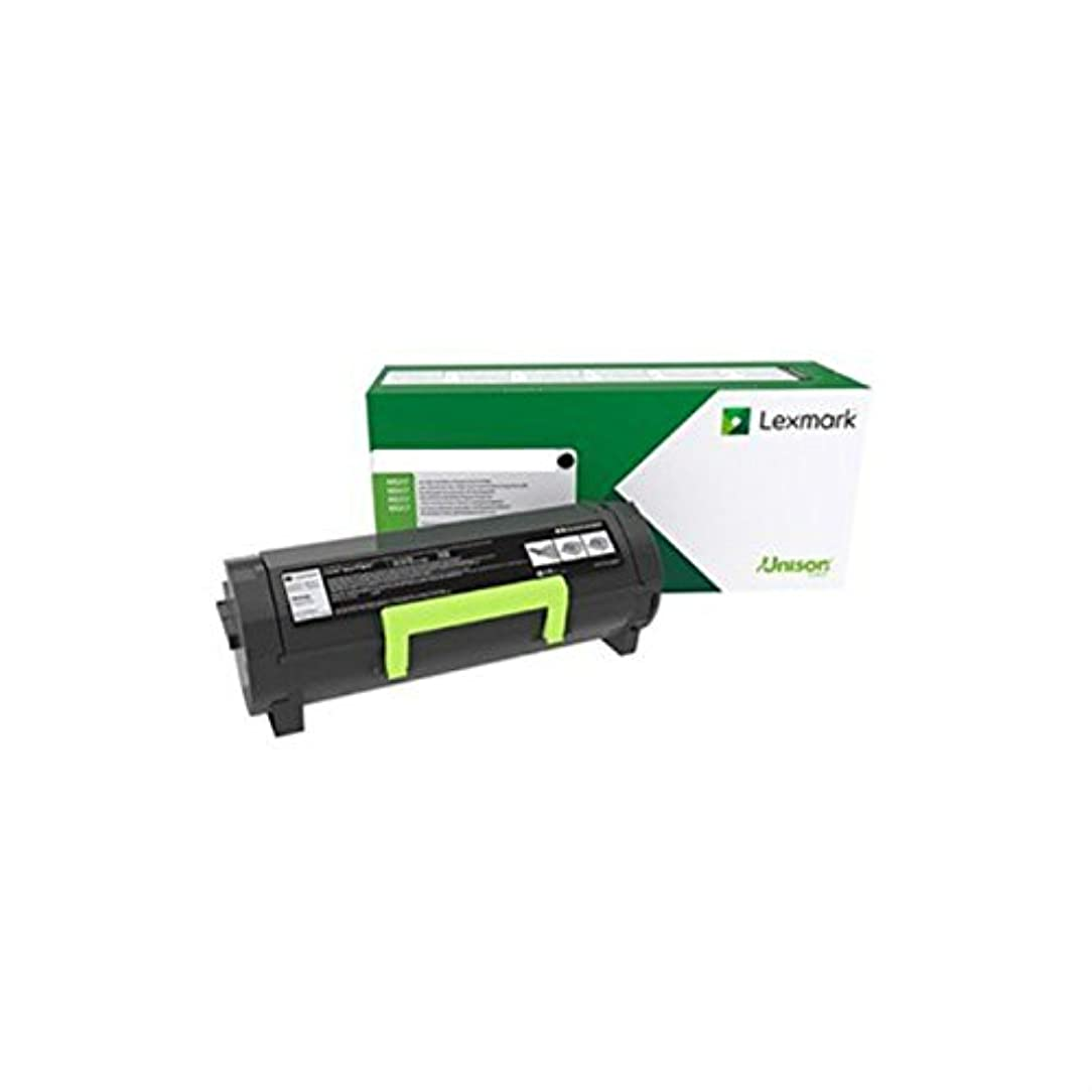 Lexmark 58D0UAL Black Ultra High Yield Return Program Toner Cartridge len61817670