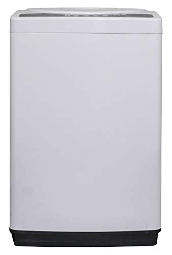 Danby DWM065A1WDB-6 2.11 Cu.Ft Machine, Portable Top Load Washer for Apartments, Small Spaces, Dorms, Stainless Steel Drum and 4 Wash Cycles, 6.5, White