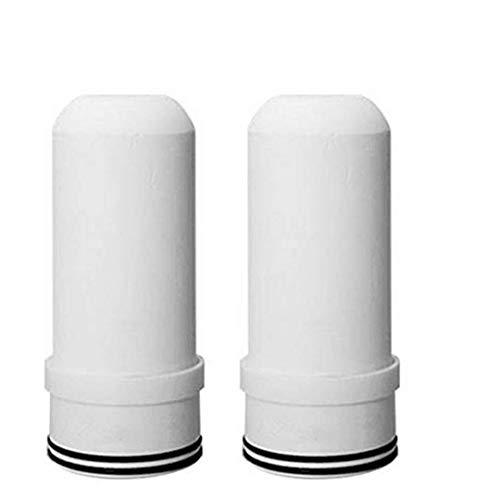 Spardar Filtro de Agua para Grifo Sistema de filtración de Agua, Material Ultra Absorbente, se Adapta a grifos estándar 07, fácil instalación, no Requiere Herramientas