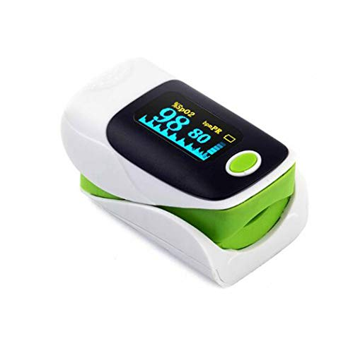 Thuis vingertop Pulsoximeter alarm Oximeter Portable Finger Pulse zuurstofverzadiging van het bloed Monitor Heart Rate SpO2 Fast Reading Monitor