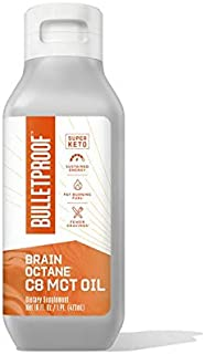 Sponsored Ad - Bulletproof Brain Octane C8 MCT Oil from Coconut Oil Provides Mental and Physical Energy, Keto and Paleo Fr...