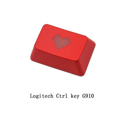 HONGB Anwendbar Auf Logitech G910 Tastenkappe, Strg-Taste, Lichtdurchlässige Mechanische Tastaturkappe (Einschließlich Schlüsselabzieher)-3