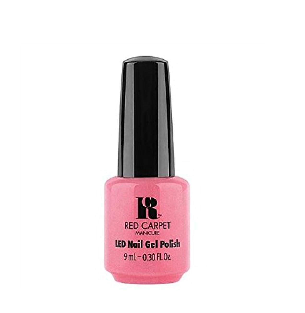 学士壁紙乳Red Carpet Manicure LED Gel Polish - I Bloom Brightly - 9 ml/0.30 oz