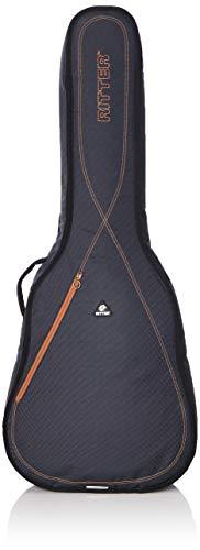 Ritter RGS3-D ACUS - Funda/estuche para guitarra acustica-clasica, logo reflectante, color gris oscuro