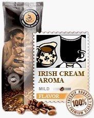 Coffee-Nation Aroma-Kaffee Irish Whiskey & Cream 1000g Bohnen | Spitzenqualität | Kaffeeliebhaber