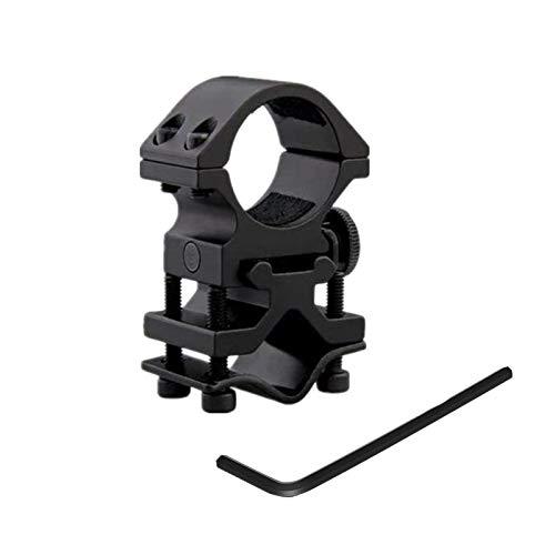 WINDFIRE Montura de Alcance Anillo Ajustable de 25 mm Soporte Universal de Barril para Linterna táctica Caza antorcha, Pistola de Tiro de Rifle de Airsoft Arma Tubo de mira láser