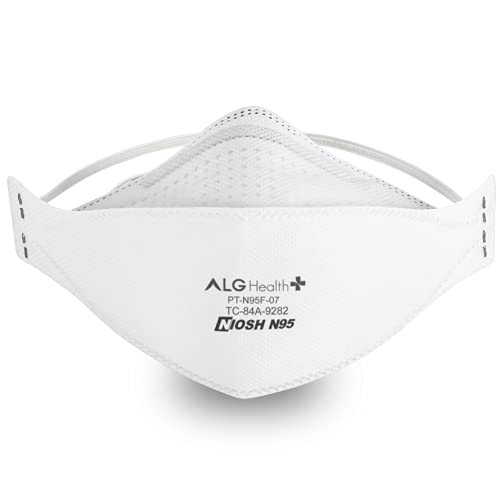 Patriot N95 Mask - NIOSH Certified - Made In USA - Tri-Fold Fish (Box of 40)