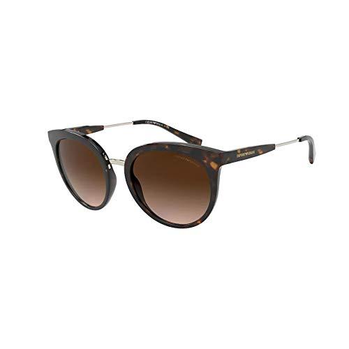 Emporio Armani Damen 0EA4145 Sonnenbrille, Marrón Oscuro, 53