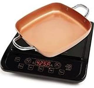 Copper Chef Pro Precision Induction Cooktop w/ Bonus 9.5 Casserole Fry Pan