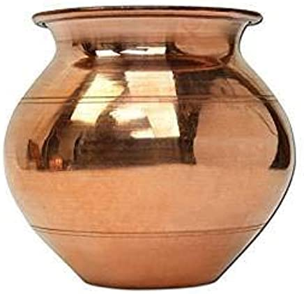 Amazon.com | Genx Small Handmade Copper Lota Kalash 9x9 cm ...
