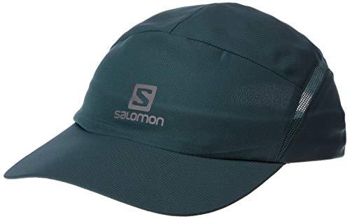 SALOMON XA Cap Gorra de Malla Impermeable, Unisex Adulto, Verde, M/L