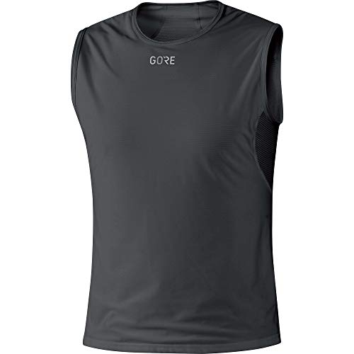 GORE WEAR M Herren Unterhemd GORE WINDSTOPPER, Größe: L, Farbe: Schwarz