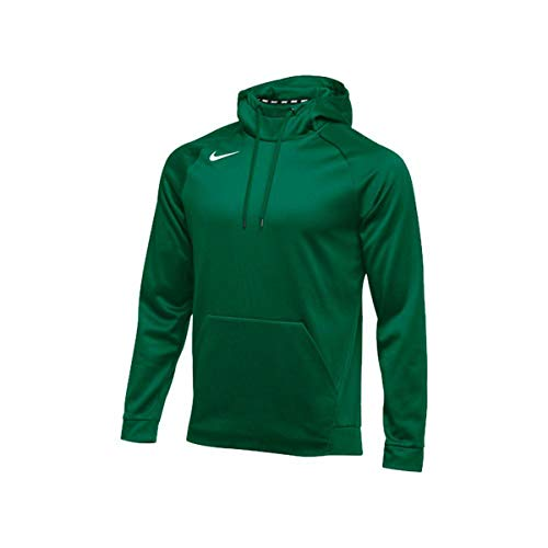 Nike Mens Therma Hoodie PO (X-Large, Green)