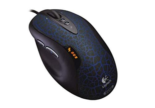 Logitech G5 Refresh Laser Maus schnurgebunden schwarz-blau
