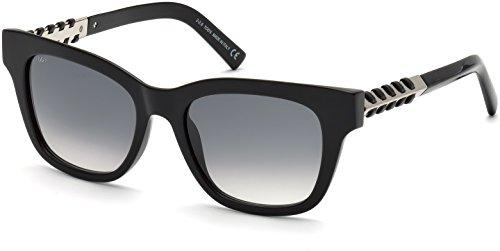 TOD'S Tod'S Sonnenbrille TO0200 Wayfarer Sonnenbrille 53, Schwarz