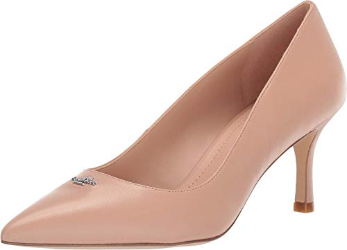 COACH Orla COH Leather Pump Beechwood 10 B