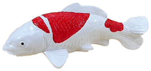 N / A Deko Koi Nishikigoi 35 x 18 cm Karpfen Fisch Germany Garten bruchfest PVC GOM 8086
