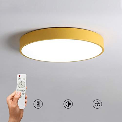 Lámpara De Techo luces techo Redondo 24/36 / 48W Luz De Panel...